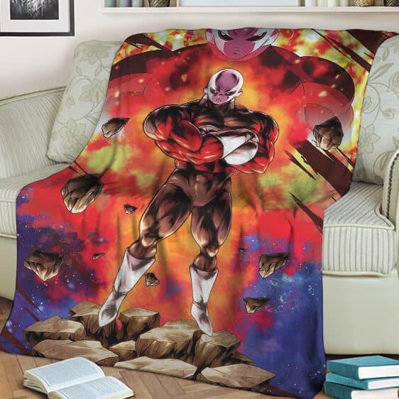 Dragon Ball Super Jiren The Gray Pride Troopers Blanket