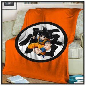 Dragon Ball Z Throw Blankets