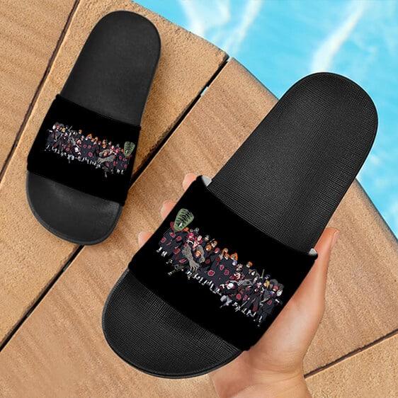 Akatsuki Team Pain Tobi Kisame Deidara Itachi Slide Footwear