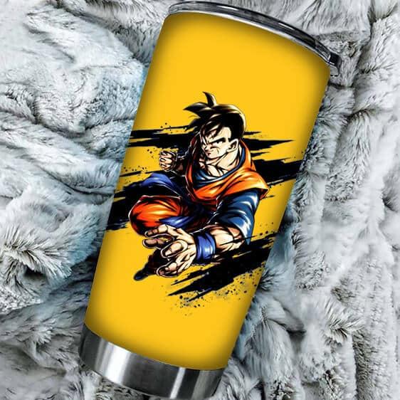 Amazing Future Son Gohan Dragon Ball Kai Yellow Tumbler