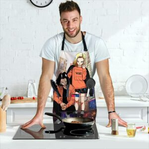 Android 17 and 18 Vans Urban Dragon Ball Z Cool Hip Apron