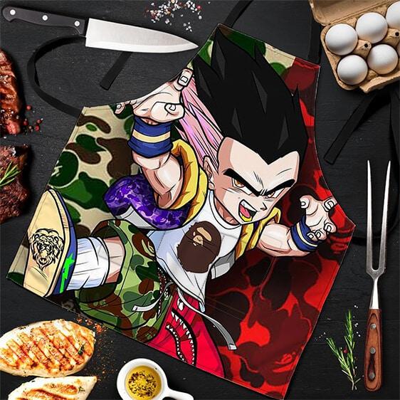 Bape Super Cool Gotenks Dragon Ball Z Hip Powerful Apron