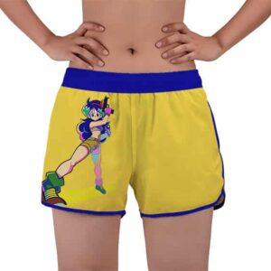 Beautiful Launch Good Girl Dragon Ball Z Women's Beach Shorts
