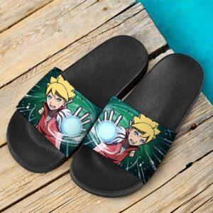 Boruto Uzumaki Rasengan Time Travel Arc Dope Slide Sandals