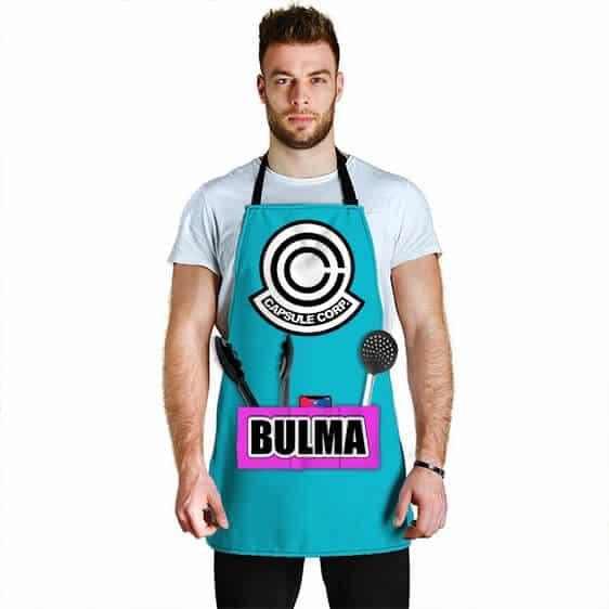 Bulma Capsule Corporation Dragon Ball Z Awesome Cool Apron