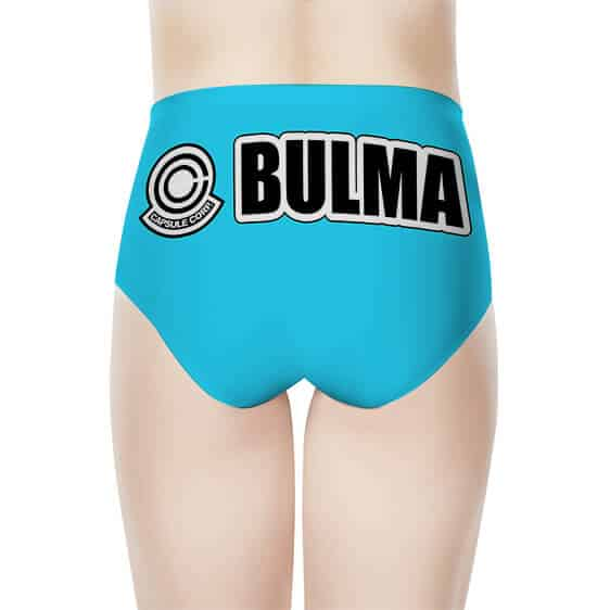Bulma Capsule Corporation Dragon Ball Z Cute Women's Brief