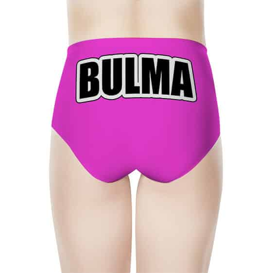 Bulma Logo Dragon Ball Z Pink Cute And Girly Women's Brief