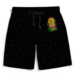 Calming Potent Alien Kush Marijuana Awesome 420 Men's Shorts