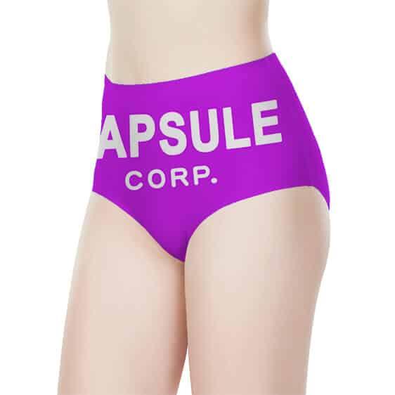 Capsule Corporation Dragon Ball Z Cute Purple Women's Brief