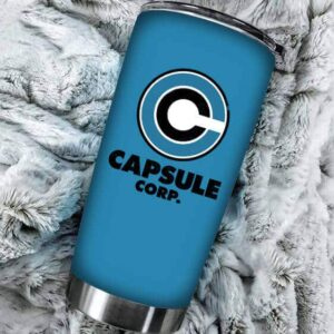 Capsule Corporation Logo Dragon Ball Z Powerful Cool Tumbler