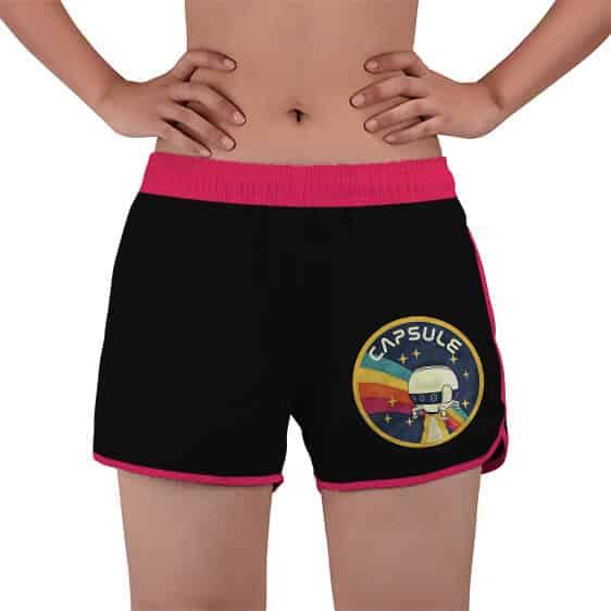 Capsule Corporation NASA Parody Dragon Ball Z Beach Shorts