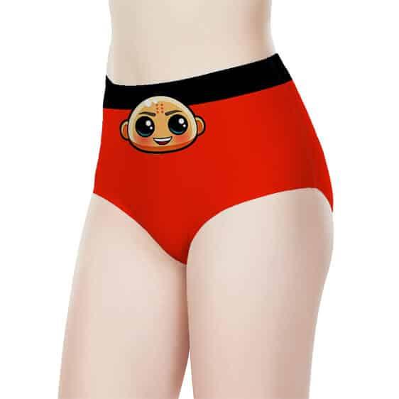 Chibi Krillin Dragon Ball Z Women's High-Waist Underwear