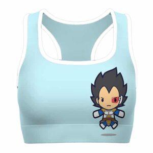 Chibi Vegeta Shenron Dragon Ball Z Cute Awesome Sports Bra