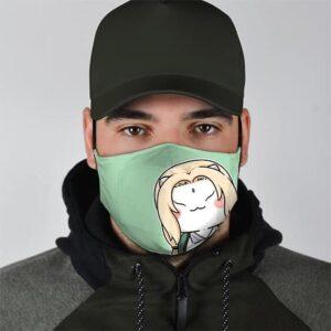 Cute Hamster Lady Tsunade Senju Cool Naruto Face Mask