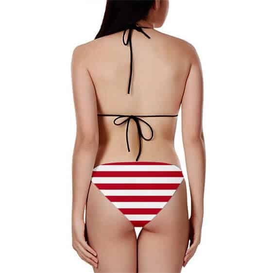 DBZ American Flag Son Goku Super Saiyan God Bikini Swimsuit