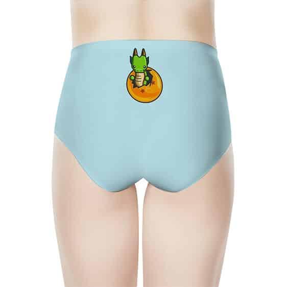 DBZ Chibi Prince Vegeta And Baby Shenron Women's Underwear