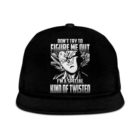 DBZ Majin Vegeta Im A Special Kind Of Twisted Awesome Snapback Hat