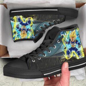 DBZ Saiyan Prince Vegeta Charged Up Converse Sneaker Shoes