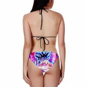 DBZ Son Goku Ultra Instinct Colorful Awesome Bikini Swimsuit