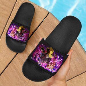 Deidara Art Is An Explosion Awesome Artwork Slide Slippers