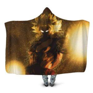Dragon Ball Broly Limitless Super Saiyan Hooded Blanket