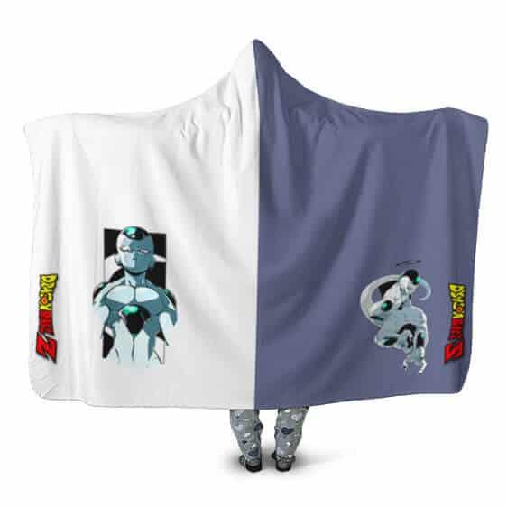 Dragon Ball Emperor Frieza Portrait Dual Design Hooded Blanket