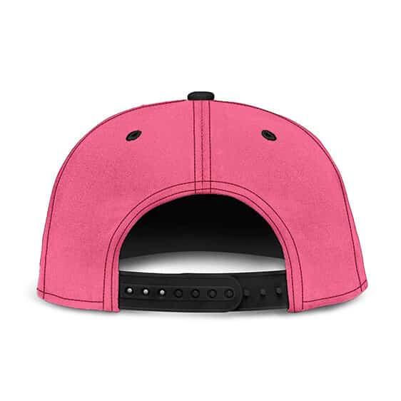 Dragon Ball Fat Buu Babidi Sponge Bob Patrick Spoof Pink Snapback Hat