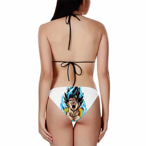 Dragon Ball Gogeta Charging Up Minimalist Two Piece Bikini