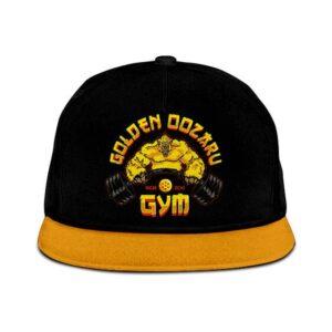 Dragon Ball Golden Oozaru Black Yellow Powerful Snapback Hat