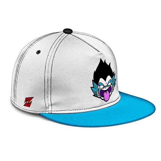 Dragon Ball Gotenks' Ghost Cute Vector Art White Blue Snapback Cap