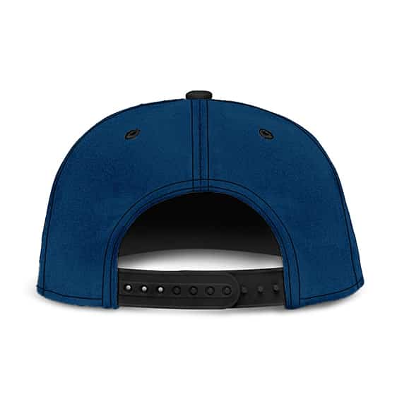 Dragon Ball King Piccolo's Kanji Symbol Cosplay Blue Red Snapback Hat