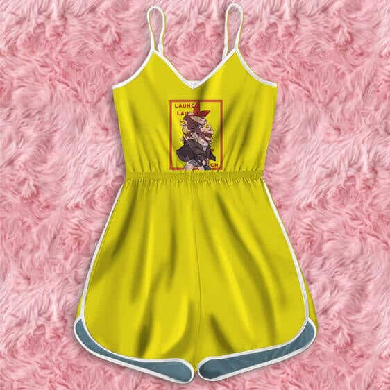 Dragon Ball Launch Multiple Name Behind Portrait Romper