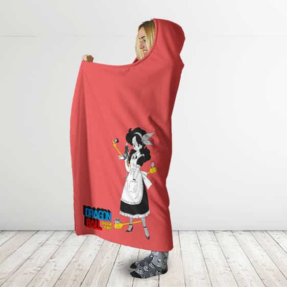 Dragon Ball Maid Outfit Launch With Kintoun Hooded Blanket