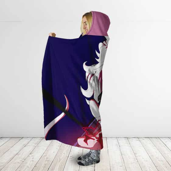 Dragon Ball Majin Android 21 Charging Attack Hooded Blanket