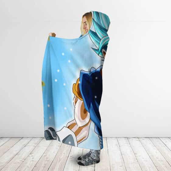 Dragon Ball Radiant Super Saiyan God Vegito Hooded Blanket
