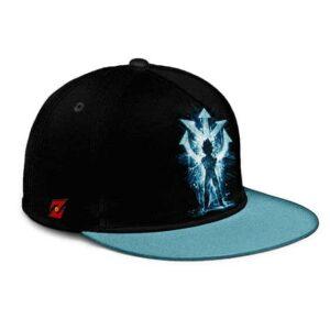 Dragon Ball Saiyan Prince Vegeta Explosive Blue Snapback Hat