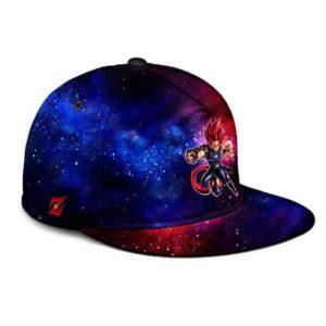 Dragon Ball Shallot Galactic Red Blue Fantastic Snapback Cap