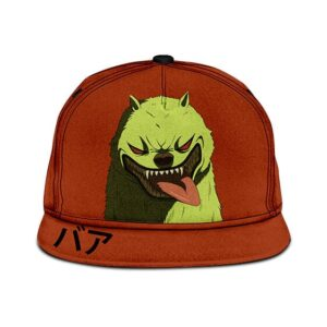 Dragon Ball Super Broly Movie Ba Japanese Orange Snapback Cap