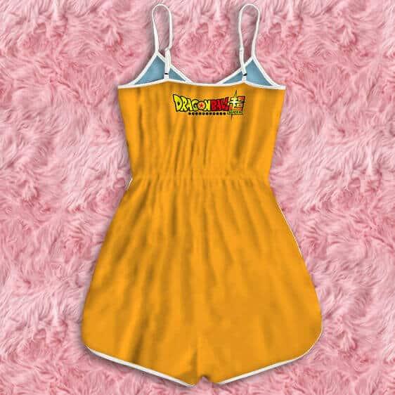 Dragon Ball Super Future Mai Cute Stylish Orange Romper