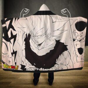 Dragon Ball Super Goku Ultra Instinct A What If Hooded Blanket