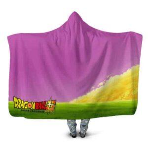 Dragon Ball Super King Kai The Northern Scenery Hooded Blanket