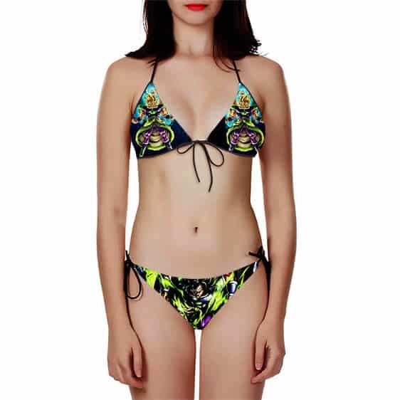 Dragon Ball Super Legendary Broly Cool Bikini Swimsuit