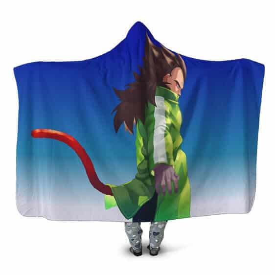 Dragon Ball Super Saiyan 4 Vegeta With Jacket Hooded Blanket