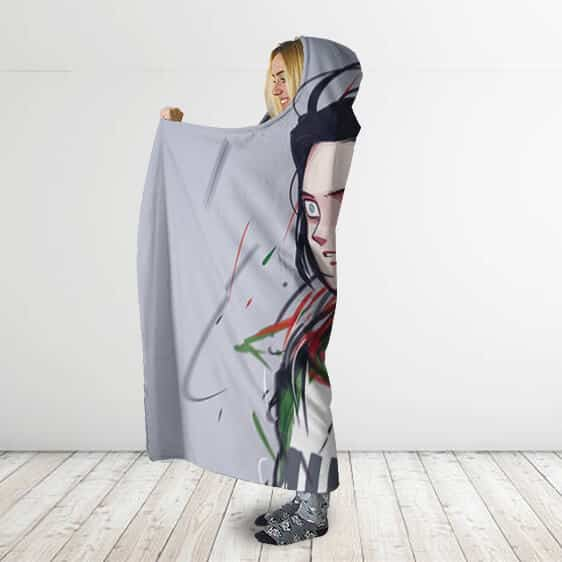 Dragon Ball Super The Sacrifice Of Android 17 Hooded Blanket