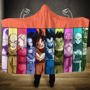 Dragon Ball Super Universal Survival Arc Team Hooded Blanket