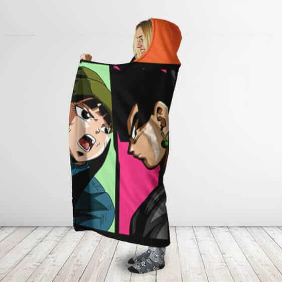 Dragon Ball Super Zamasu Arc Main Characters Hooded Blanket