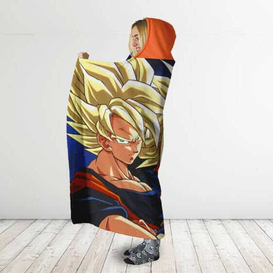 Dragon Ball The Saiyan Team Featuring Piccolo Hooded Blanket