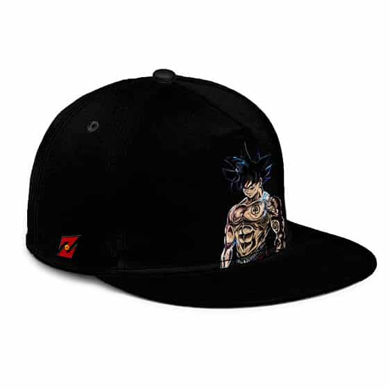 Dragon Ball Thug Life Son Goku Awesome Black Snapback