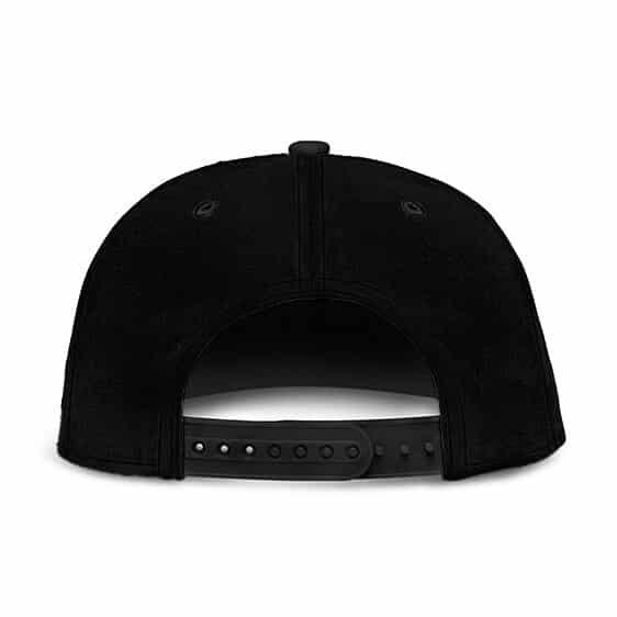 Dragon Ball Vegeta Silhouette SSGSS Minimalist Black Snapback Hat