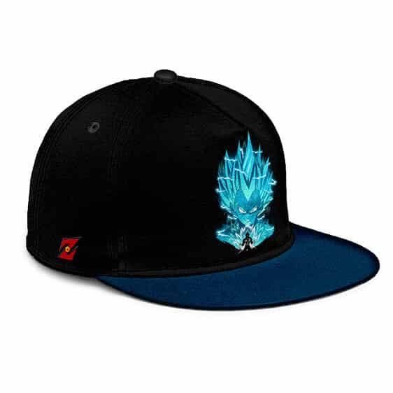 Dragon Ball Vegeta Super Saiyan Blue Dope Black Snapback